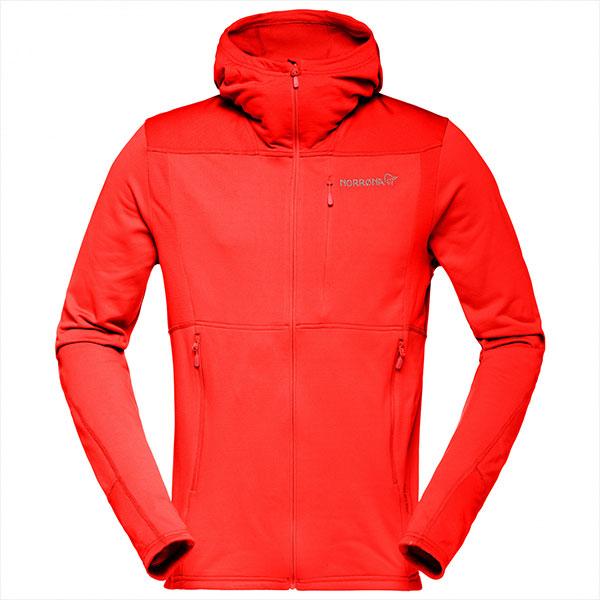 Norrona Falketind Warm1 Stretch Zip Fleece Hoodie Men